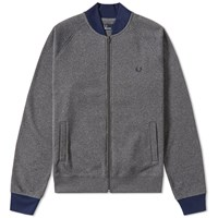 Fred Perry Colour Block Bomber Jacket Grey