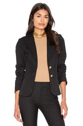 Derek Lam Patch Pocket Blazer Black