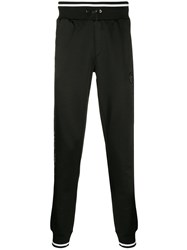 Plein Sport Side Logo Track Pants Black