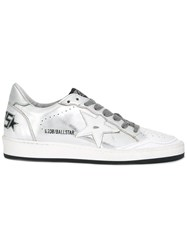 Golden Goose Deluxe Brand Ball Star Sneakers Metallic