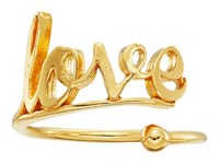 Alex And Ani Love Ring Wrap Precious Metal 14Kt Gold Plate Ring