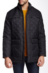 Andrew Marc New York Futon Quilted Jacket Black