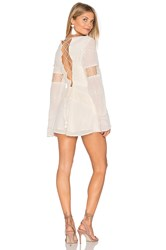 The Jetset Diaries Dokuma Romper White