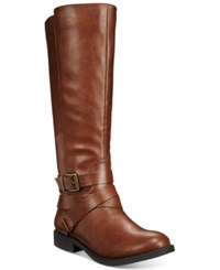 Styleandco. Style Co. Lolah Boots Only At Macy's Women's Shoes Cognac