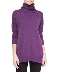 Magaschoni 3 4 Sleeve Cashmere Turtleneck Tunic Xs S2