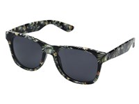 Vans Spicoli 4 Shades Black Decay Palm Dark Smoke Fashion Sunglasses