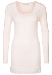 Cream Florence Long Sleeved Top Tinder Rose