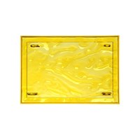 Kartell Dune Tray 46X32cm Yellow