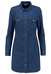 Noisy May Nmjoy Denim Dress Medium Blue Denim