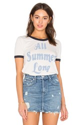 Junk Food All Summer Long Tee White