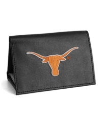 Rico Industries Texas Longhorns Trifold Wallet Black