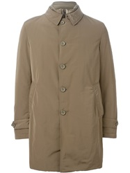 Herno Padded Parka Nude And Neutrals