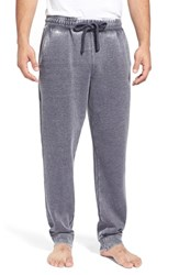 Men's Daniel Buchler Washed Cotton Blend Lounge Pants Midnight