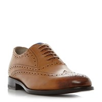 Oliver Sweeney Fellbeck Wingtip Classic Brogue Shoes Tan