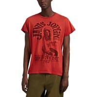 Madeworn Janis Joplin Cotton T Shirt Red