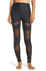 Onzie Women's Mesh Inset Leggings Black