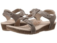 Aetrex Lori Adjustable Quarter Strap Stone Women's Sandals White