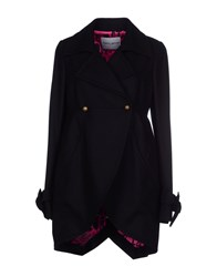 Frankie Morello Coats And Jackets Coats Women Black