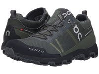 On Cloudventure Midtop Forest Grey Running Shoes Olive