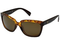 Kaenon Cali Amber Crystal Brown 12 Polarized Sport Sunglasses