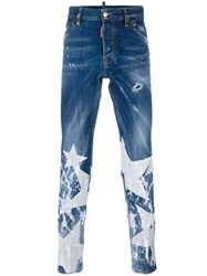 Dsquared2 Cool Guy Big Star Jeans Blue
