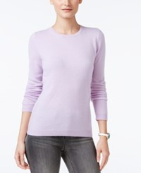Charter Club Cashmere Crew Neck Sweater Only At Macy's Larkspur