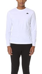 Kappa Rovers Long Sleeve Tee White