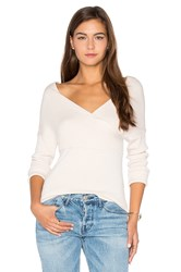 Central Park West Brighton Off Shoulder Sweater Blush