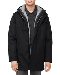 Ugg Copeland System Parka Coat With Removable Jacket Black
