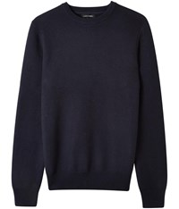 Austin Reed Honeycomb Navy Crew Neck Jumper