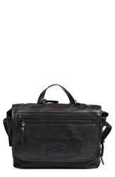 John Varvatos Men's Collection Ludlow Leather Messenger Bag