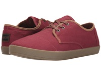 Toms Paseo Oxblood Twill Men's Lace Up Casual Shoes Purple
