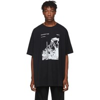 Off White Black And Ruined Factory T Shirt