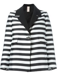 Antonio Marras Striped Jacket Black