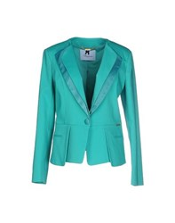 Blumarine Suits And Jackets Blazers Women Turquoise