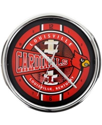 Memory Company Louisville Cardinals Chrome Clock