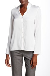 Hugo Boss Banari Silk Blend Blouse White