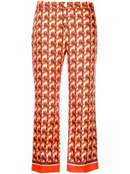 F.R.S For Restless Sleepers Printed Trousers Multicolour