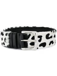 Simonetta Ravizza Adjustable Buckle Belt Black