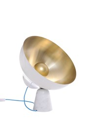 Zpstudio Ottone Secondo Brass And Marble Table Lamp