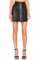 Muubaa Holland Mini Skirt Black