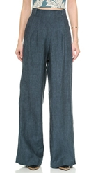 Sass And Bide The Force Wideleg Trousers Indigo