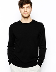 American Apparel Jumper With Crew Neck Black