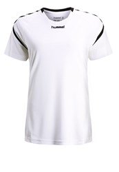 Hummel Authentic Charge Print Tshirt White