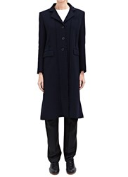J.W.Anderson J.W. Anderson Raw Edge Wool Coat Blue