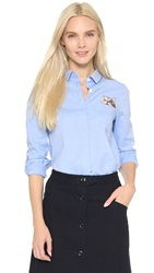Paul And Joe Sister Chaperche Shirt Sky Blue