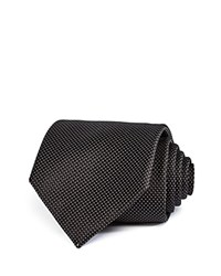 Bloomingdale's The Men's Store At Micro Dot Classic Tie 100 Exclusive Black