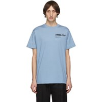 Ambush Ssense Exclusive Blue Logo T Shirt