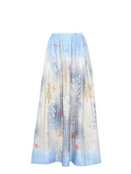 Thierry Colson Odette Printed Cotton Maxi Skirt