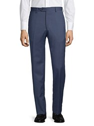 Lubiam Classic Wool Trousers Navy